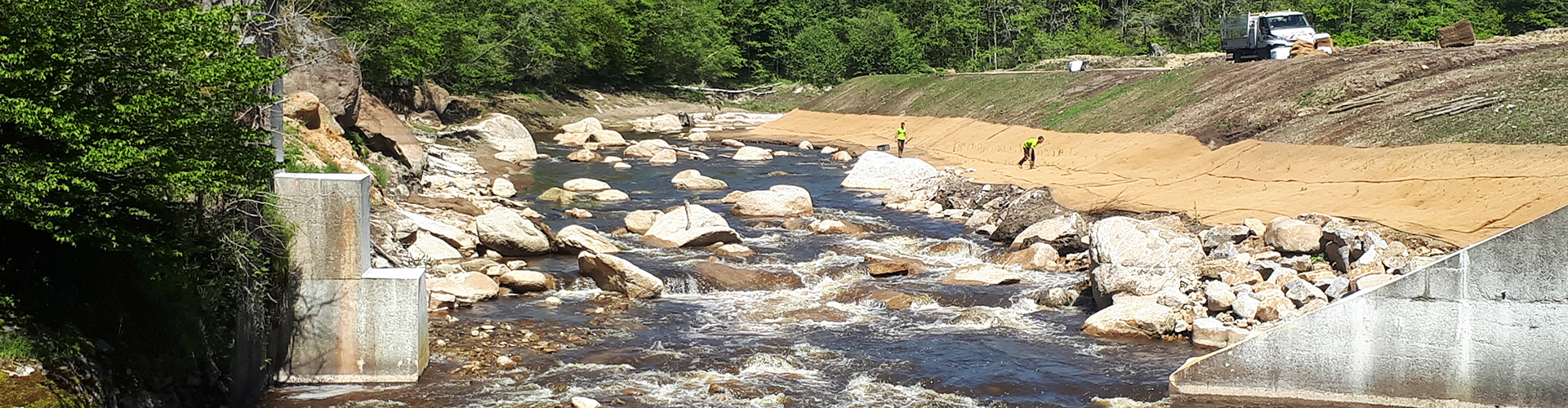 La protection des berges et des cours d'eau